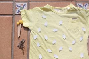 Camiseta helados hand made plantilla