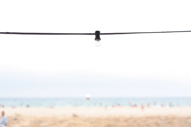 Bombillas playa barraguda